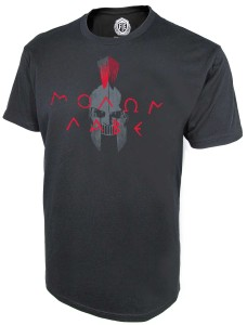 Front Toward Enemy Brand Molon Labe Tshirt