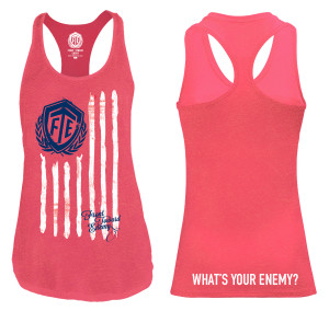 FTE_Ladies Red Tank