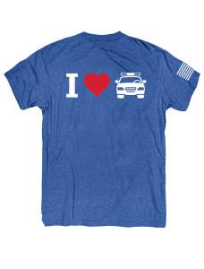 FTE_I HEART COP CAR MENS